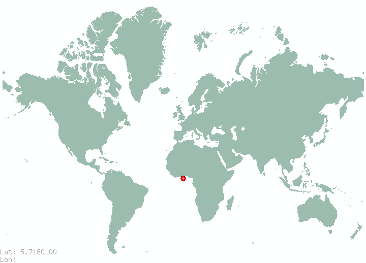 Sibut in world map